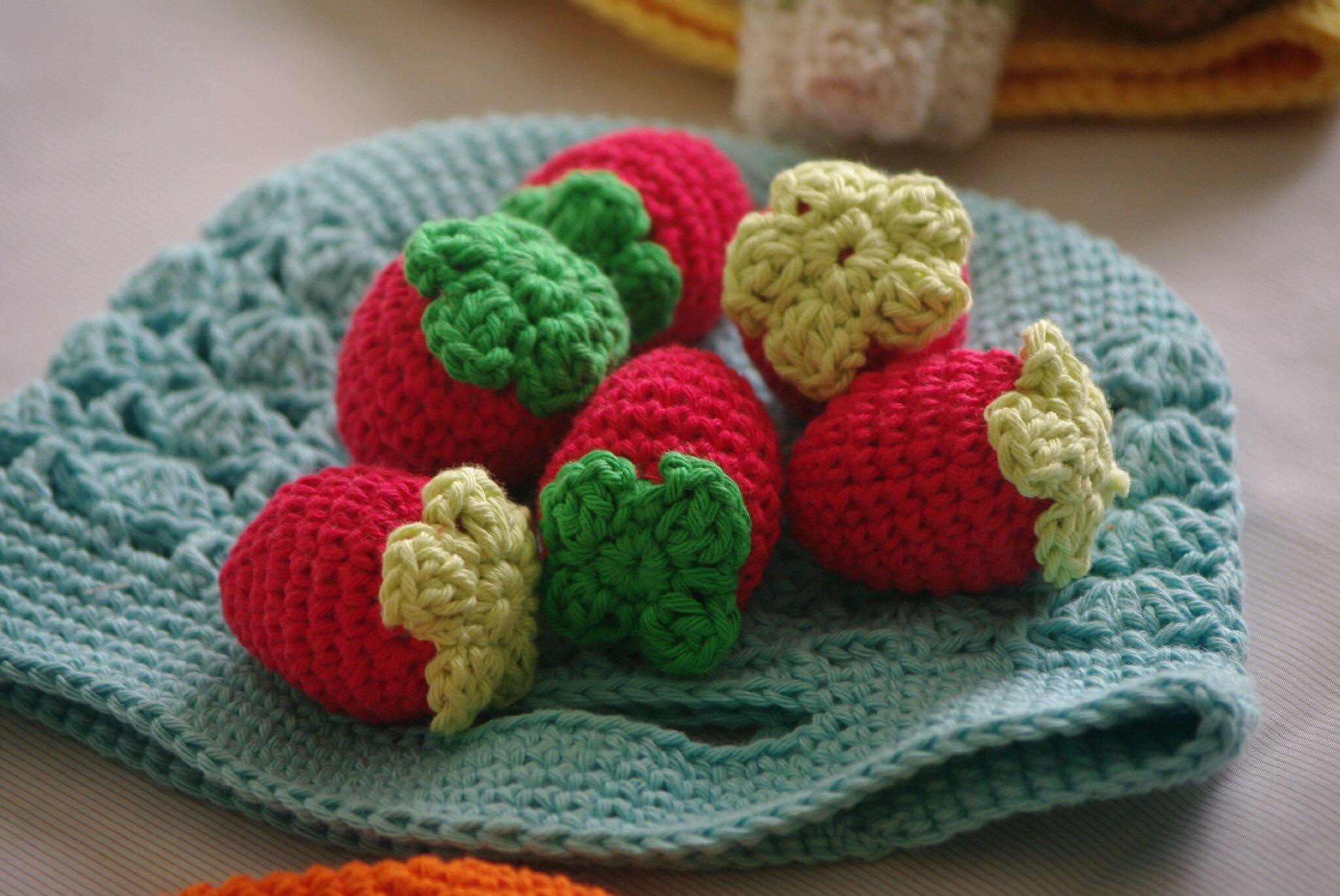 crocheter ds fraises