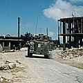 1982 - pour se defendre contre l'olp... israel envahit le liban