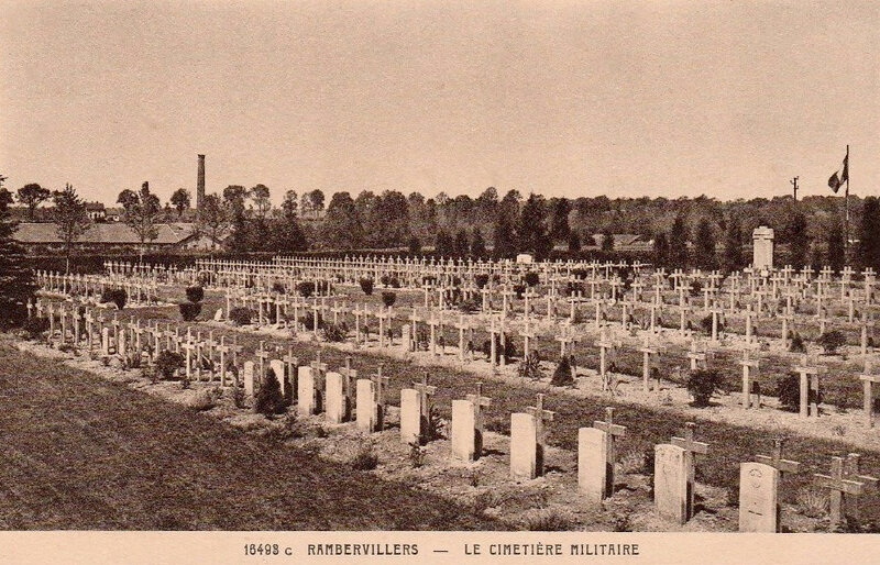 Rambervillers, cimtière militaire (1)