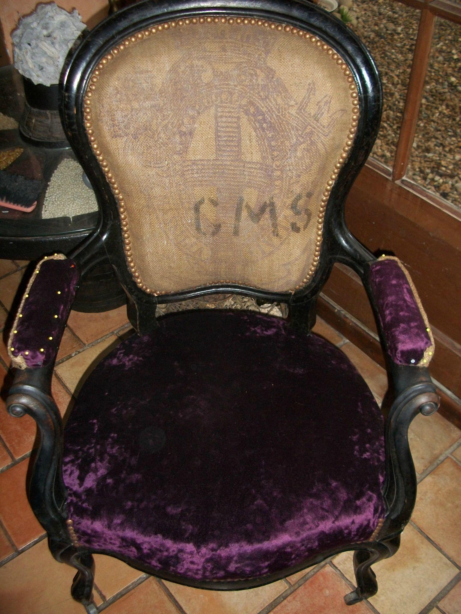 fauteuil napoléon industriel
