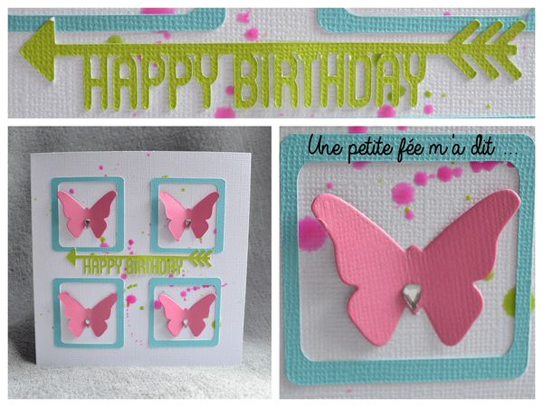 carte_anniversaire_scrapbooking_papillons_rose_turquoise_vert