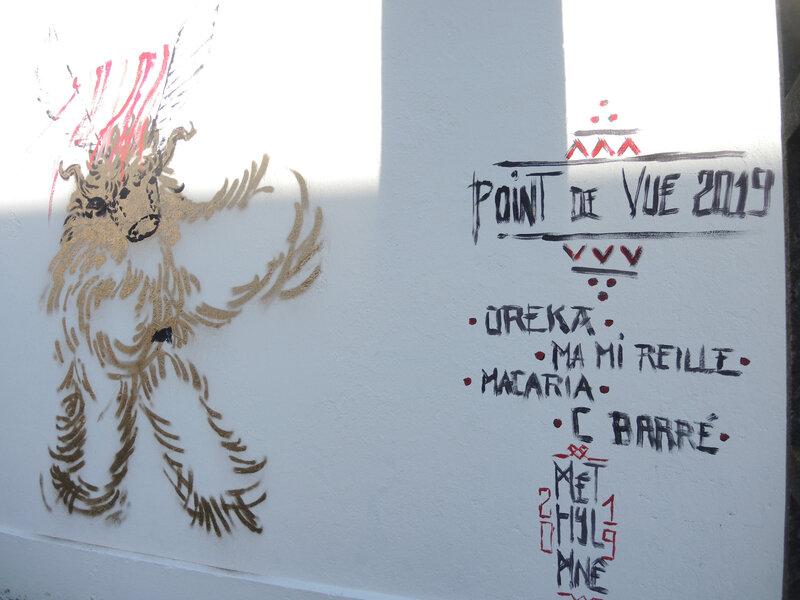 Bayonne, Festival Street art Points de vue 2019, fresque METYL'MNE