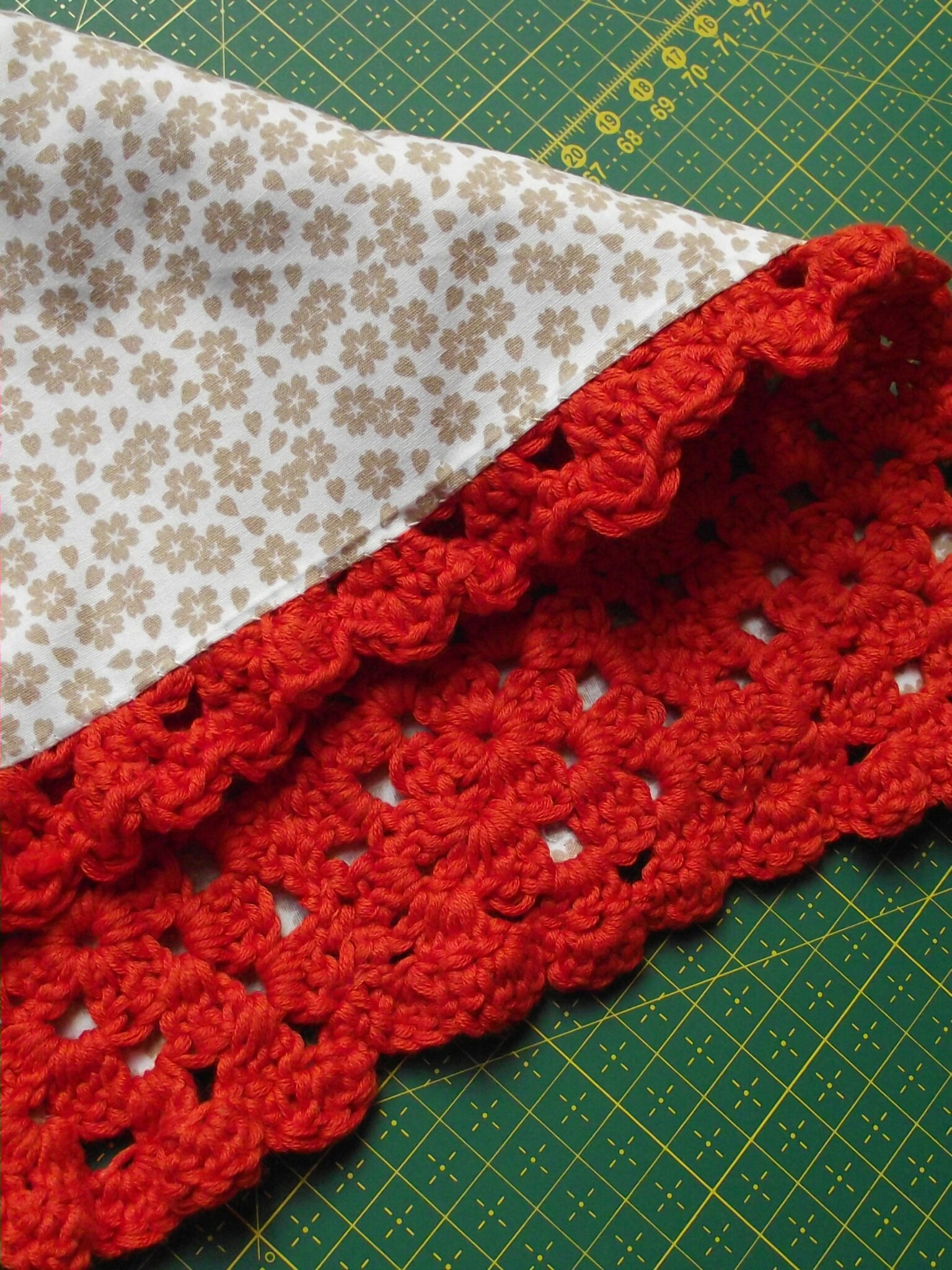mini couverture granny orange 4
