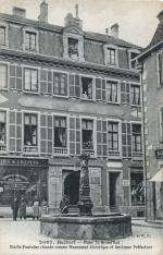 CPA Belfort Petite fontaine 1905-10 R