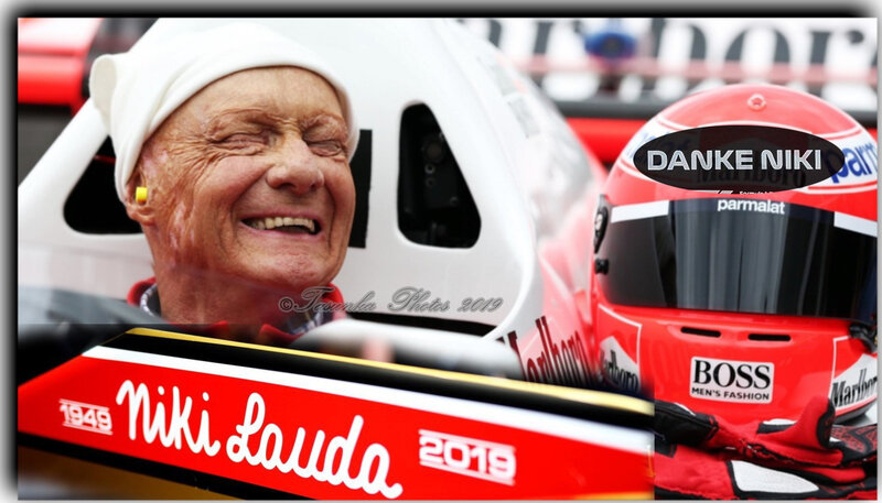NIKI LAUDA - Tribute to the Legendary Three-Time Formula 1 World Champion (1949-2019)