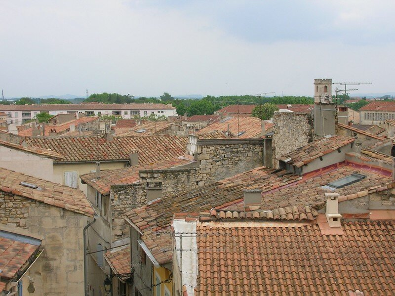 Arles, toits