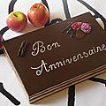 Gâteau d'anniversaire Opéra
