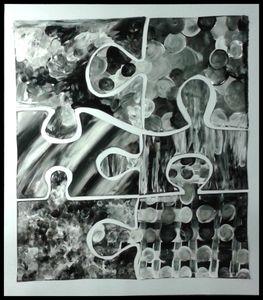 70_Noir et Blanc_ Puzzle (cadré)