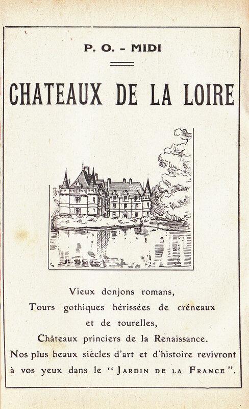 Pub châteaux de la Loire 1