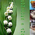 Mousse de fromage blanc à la mangue coeur cassis