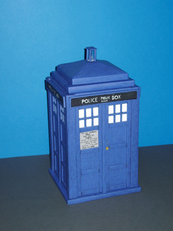 le tardis du doctor who