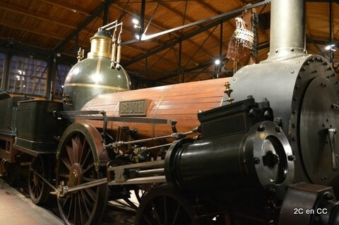 Locomotive -Deutsches Technikmuseum - Berlin