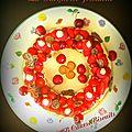 La dacquoise pistache et ses fruits rouges