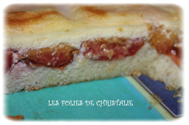 Gâteau magique aux prunes 10