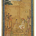 The emperor jahangir in the zenana, mughal india, 17th century