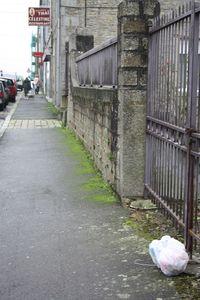 Avranches rue de Mortain ordure déchet C3A
