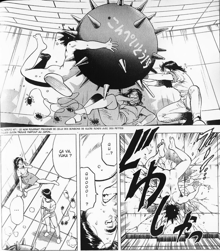Canalblog Japon Manga City Hunter Massues Spéciales Tome18 12