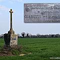 Monument en péril : la croix du mortais aux brouzils