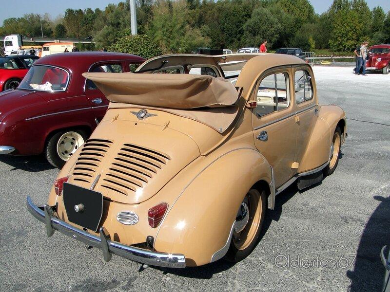 renault 4cv decouvrable 1947 1961 b