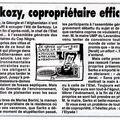 Sarkozy, copropriétaire efficace