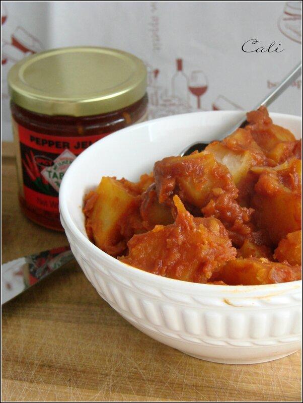 Pommes de Terre Epicées à la Tomate & Entrecôte New York Angus 003