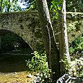 pont sur la couze de Valbeleix à Courgoul
