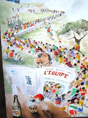 Marseille Cassis 2010 L'imaginaire