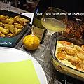 Poulet farci façon dinde de thanksgiving