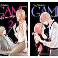 [chronique manga] game entre nos corps, tomes 1, 2, 3 & 4 de mai nishikita