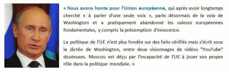 """Info: La guerre (économique) va commencer avec la Russie. Moscou : """"Nous avons honte pour l'Union européenne""""."""