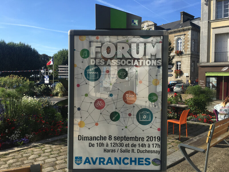 Avranches_forum des associations_dimanche 8 septembre 2019_association_forum