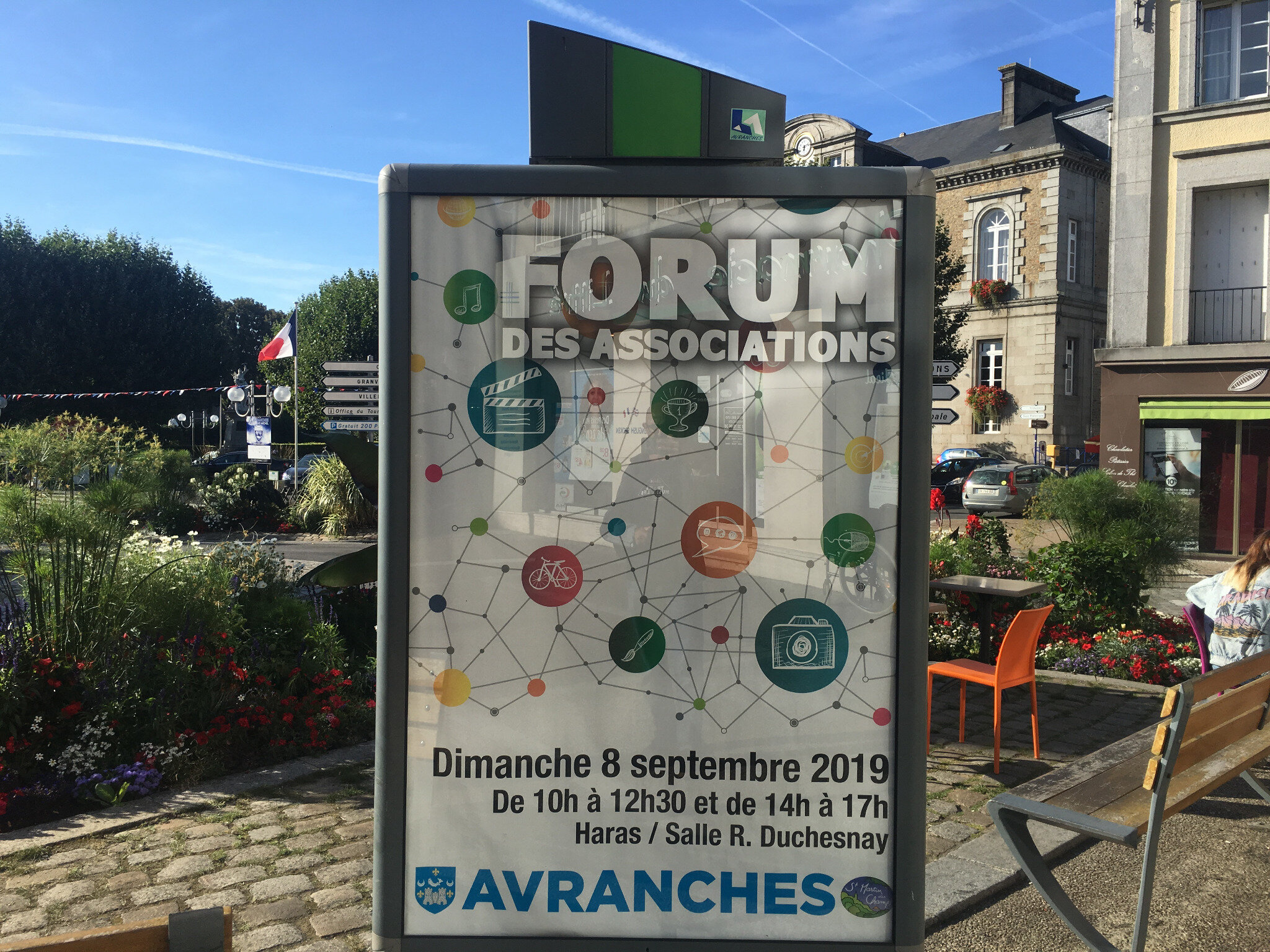forum des associations à Avranches - dimanche 8 septembre 2019