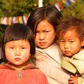 Enfants de Yuksom