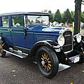 Willys knight 4door sedan 1928