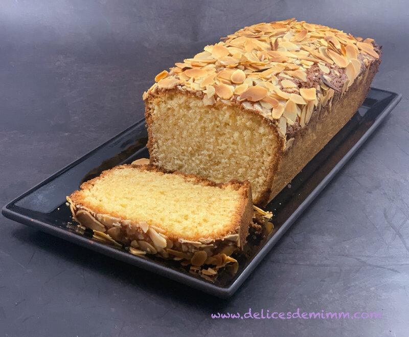 Cake à la pâte d'amandes 5