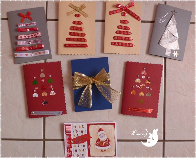 Cartes Home Made Fêtes 2015 5