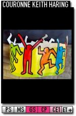 343-Couronnes-Couronne Keith Haring