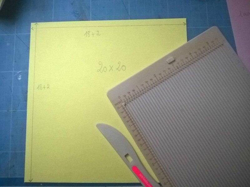 tuto enveloppe 3D04