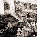 Entrée officielle á Tanger de Moulay Hassan I 1 septempre 1889