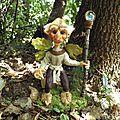 Max l'elfe du chene - sculpture