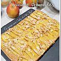 Moelleux aux pommes et aux amandes (all-clad)