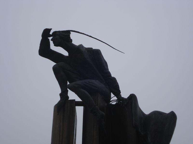 Bruges, sculpture-fontaine, détail 5