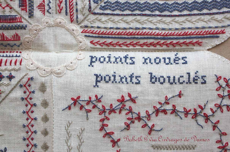Babeth points noués