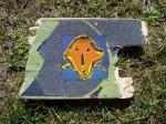 sur skate-board 1 tête 2000