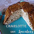 Charlotte aux speculoos