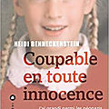 Heidi benneckenstein/coupable en toute innocence