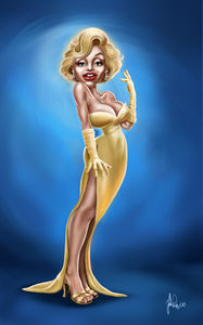 art_caricature_marilyn_by_john_rios_1