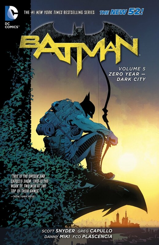 batman vol 5 zero year dark city TP