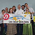 La team LJSF, presque au complet