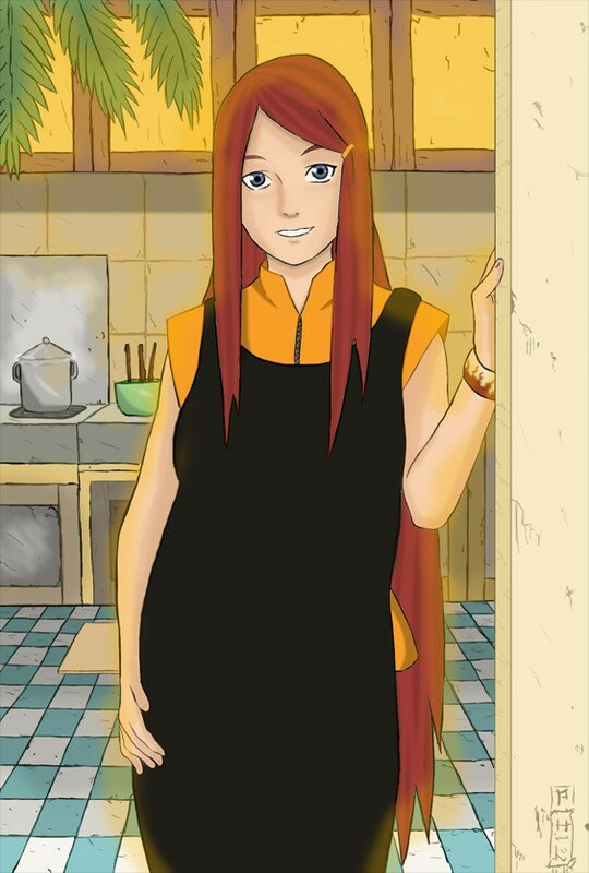 Kushina_Uzumaki_by_I_Saw_Hitler